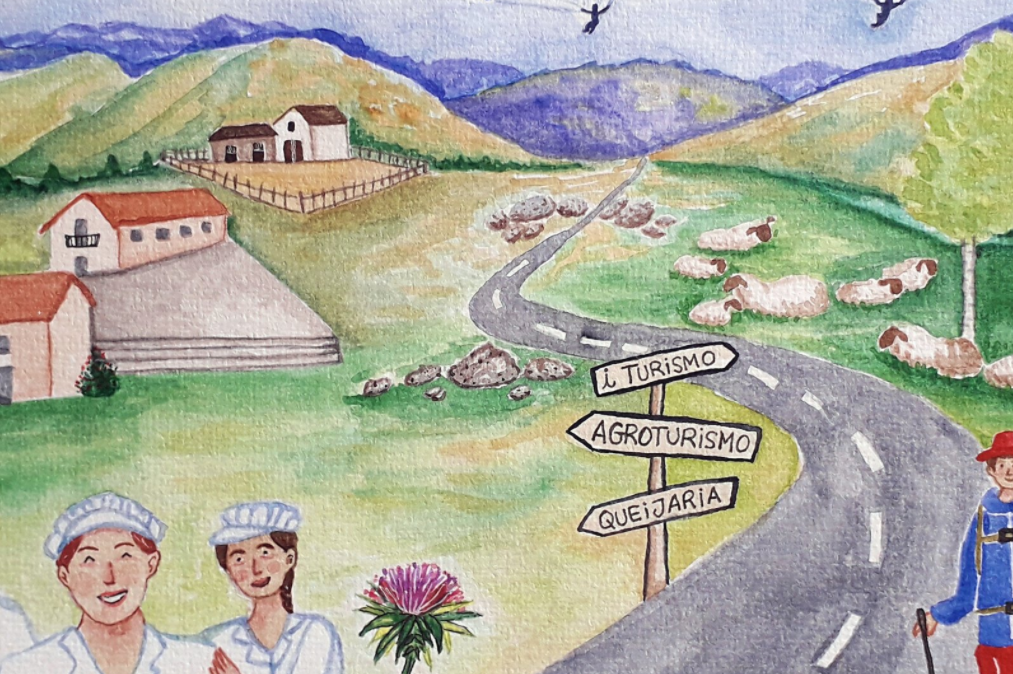 Projeto Queijeiras no Dia Mundial do Turismo